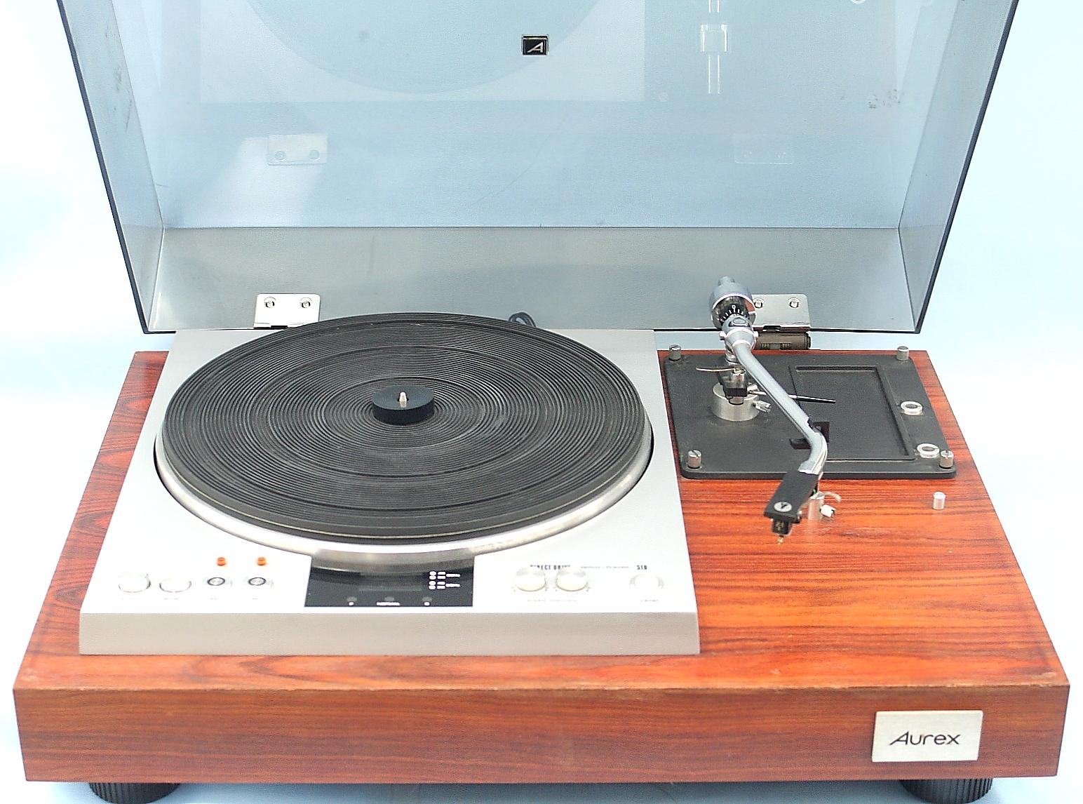 AUREX レコードプレーヤー SR-510