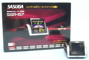 SASUGA GPSレーダー探知機 SGR-157