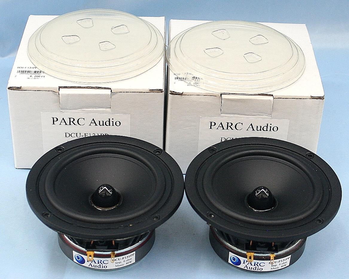 PARC Audio スピーカーユニット(ペア) DCU-F131PP