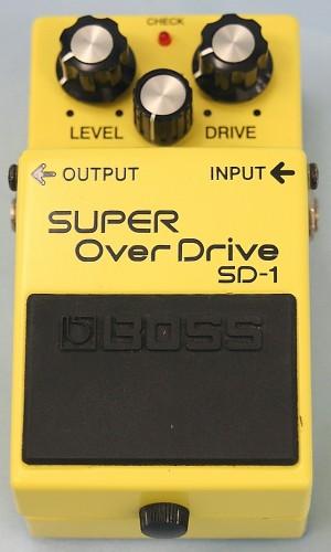 BOSS エフェクター SD-1
