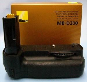 Nikon バッテリーパック MB-D200