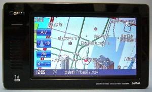 SANYO ポータブルナビ NV-JM480DT
