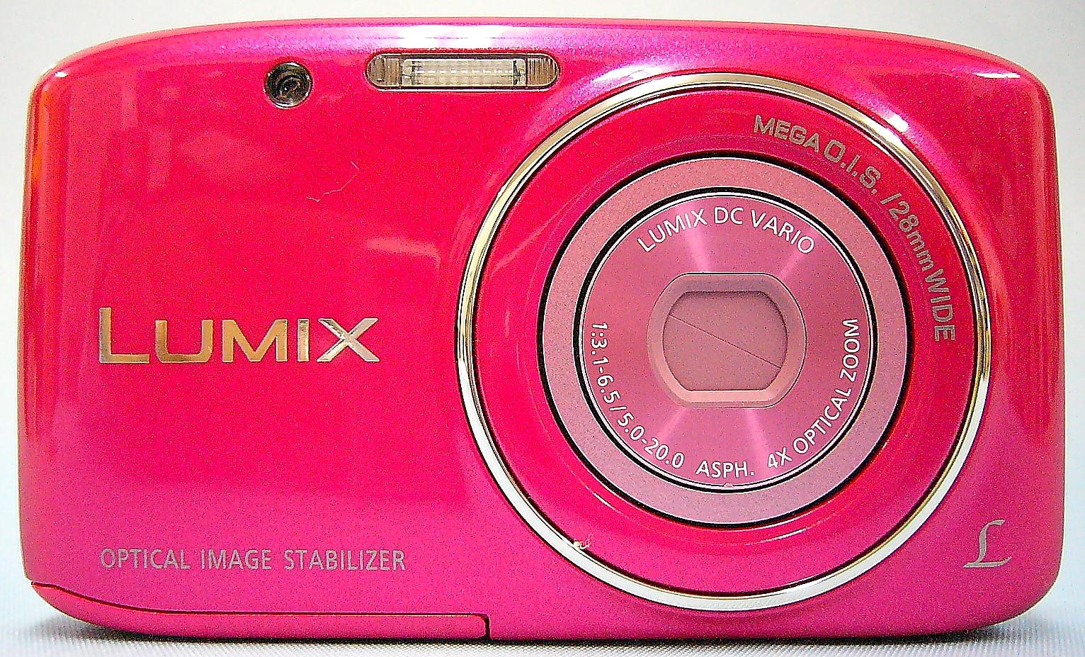 Panasonic デジタルカメラ DMC-S2