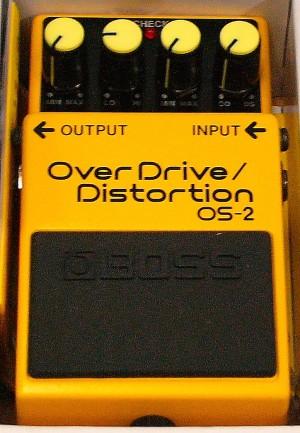 BOSS エフェクター DS-1