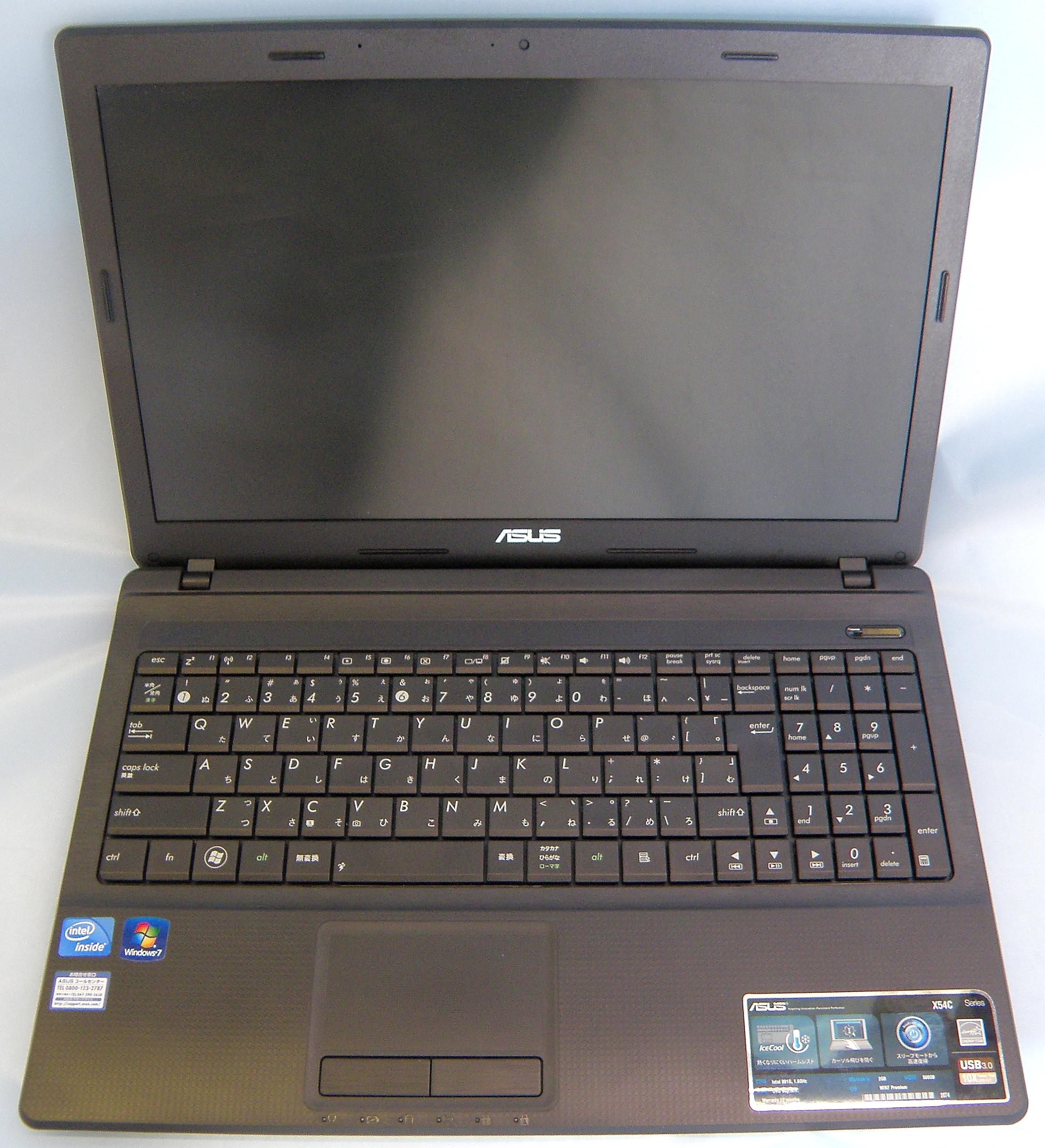 ASUS ノートパソコン X54C-SX279V