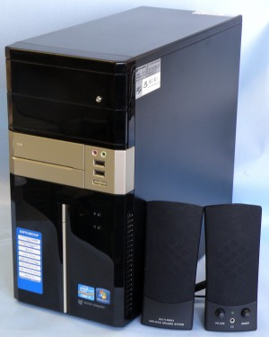 mouse computer デスクトップパソコン EGPI726BC10P