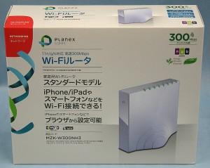 PLANEX Wi-Fiルーター MZK-W300NH3