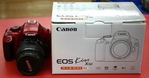 Canon デジタル一眼カメラ EOS KISS X50