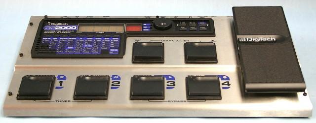 DIGITECH マルチエフェクター RP2000