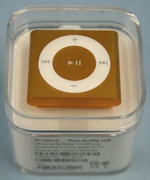 Apple iPod shuffle 2GB 第4世代 PC749J/A