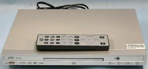 QTEC DVDプレーヤー DV-C801S