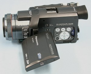 Panasonic MiniDVビデオカメラ NV-GS400