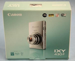 Canon コンパクトデジタルカメラ IXY 430F