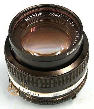 Nikon レンズ NIKKOR 50mm 1.4