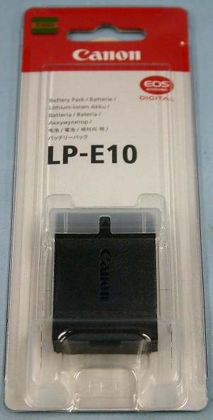 Canon バッテリー LP-E10