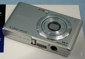 SONY コンパクトデジタルカメラ DSC-W550