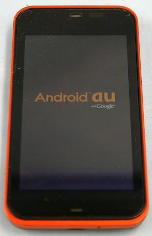 au SHARP スマートフォン IS03