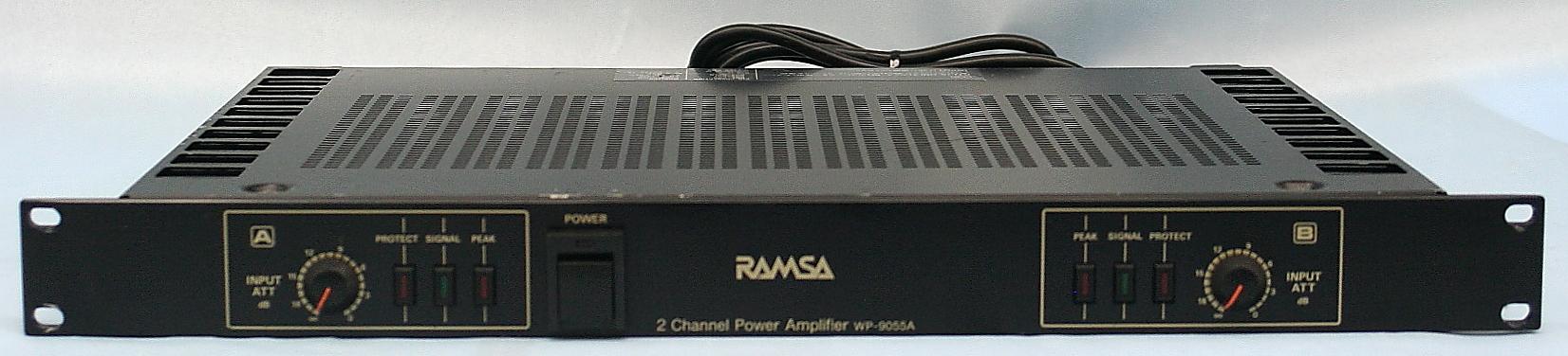 RAMSA パワーアンプ WP-9055A