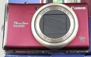 Canon デジタルカメラ PowerShot SX200 IS