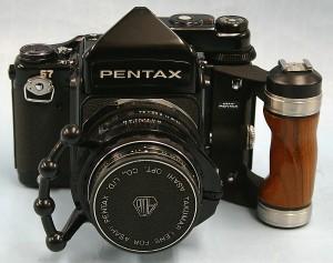 PENTAX カメラ+レンズ ペンタ67 TTL SMC タクマー 105 2.4