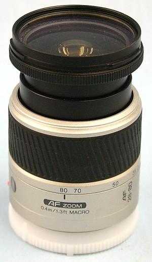 MINOLTA レンズ 28-80 3.5-5.6D MACRO