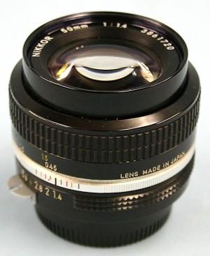 Nikon レンズ N-N 50 1.4