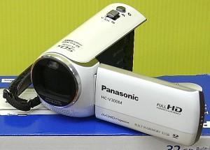 Panasonic デジタルハイビジョンデジタルカメラ HC-V300M