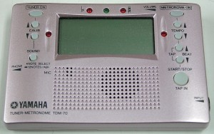 YAMAHA チューナー・メトロノーム TDM-70