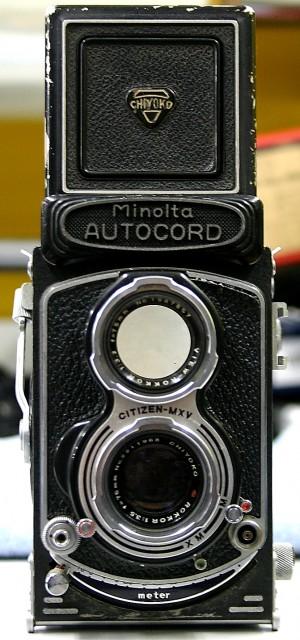 Minolta 二眼レフカメラ AUTO CORD