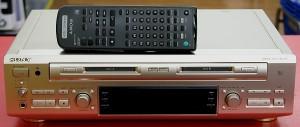 SONY W-MDデッキ MDS-W1