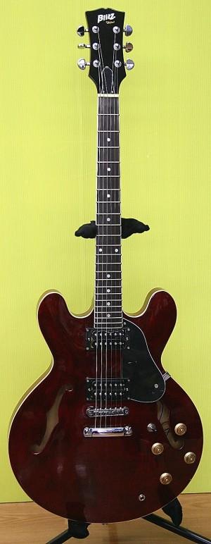 Blitz セミアコースティックギター BES-STD