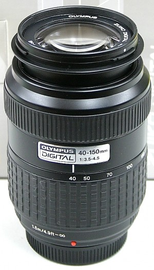 OLYMPUS レンズ ZUIKO DIGITAL 40-150 3.5-4.5