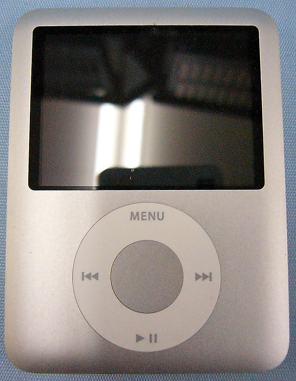Apple iPod nano 第3世代 MA978J/A