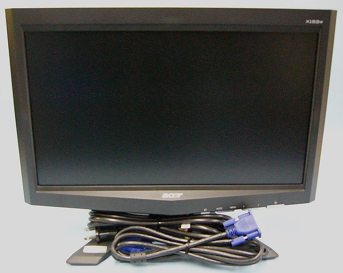 acer 液晶ディスプレイ X153Wb