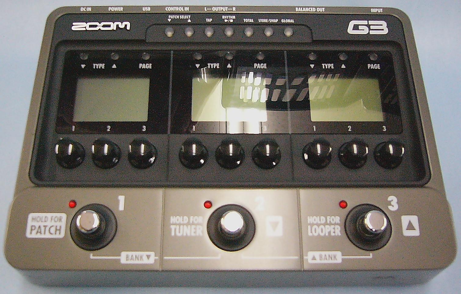 ZOOM エフェクター ZOOM G3