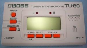 BOSS ギターチューナー TU-80