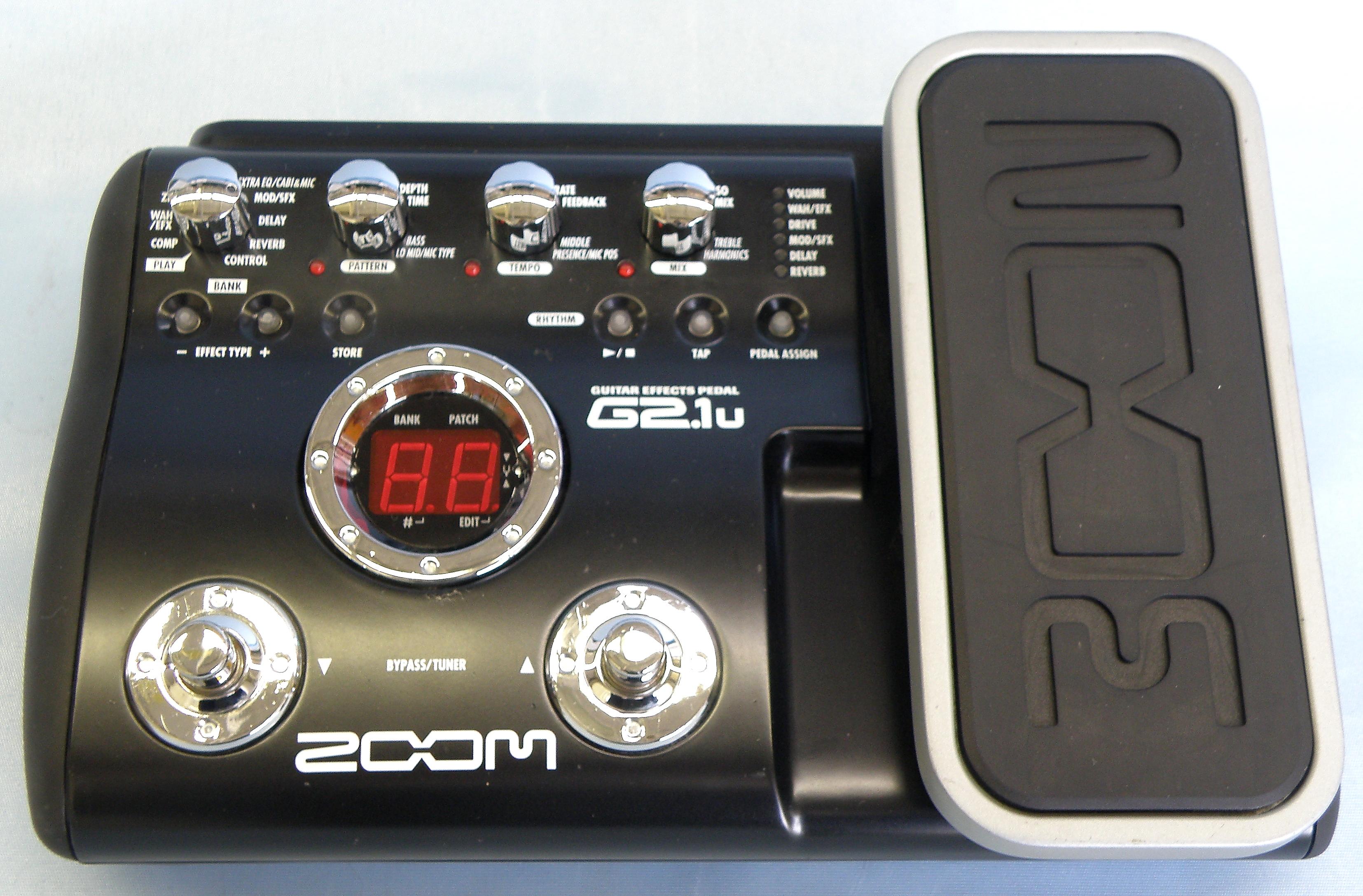 ZOOM エフェクター G2.lu