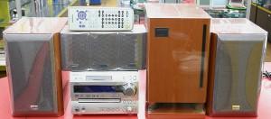 ONKYO 5.1ch DVDホームシアター X-UN7+SWA-N7