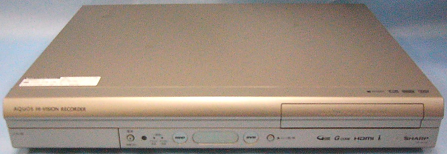 SHARP HDD/DVDレコーダー DV-AC32