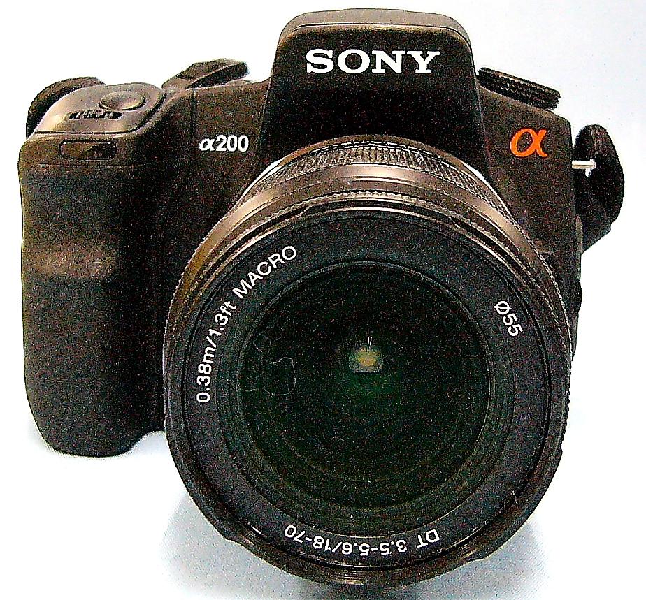 SONY デジタル一眼 DSLR-A200 本体のみ