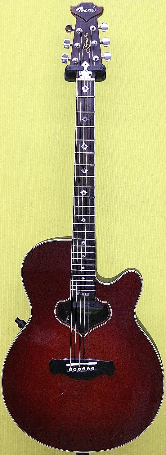Morris エレクトリックアコースティックギター Tornado Z