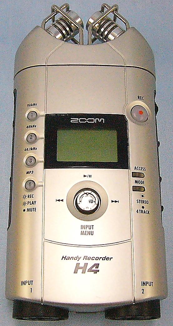 ZOOM ハンディレコーダー H4