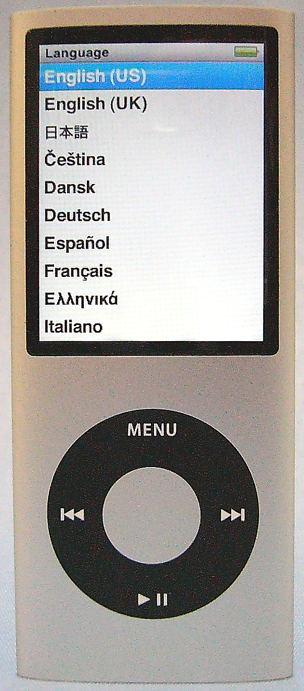 Apple iPod nano 8GB 第4世代 MB598J/A