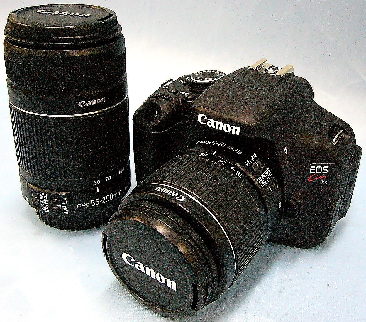 Canon デジタル一眼カメラ EOS Kiss X5 ダブルズームセット