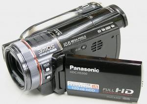 Panasonic デジタルハイビジョンデジタルカメラ HDC-HS300