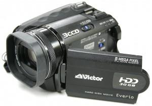 Victor HDDビデオカメラ GZ-MG505