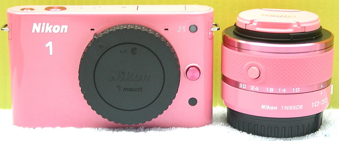 Nikon ミラーレスデジカメ J1 レンズキット