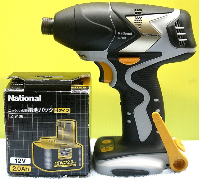 National インパクトドライバー EZF501/EZ9108
