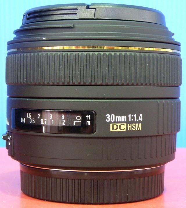 SIGMA レンズ 30mm F1.4 EX DC HSM for Canon