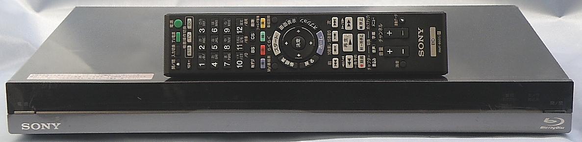 SONY BDレコーダー BDZ-AT750W